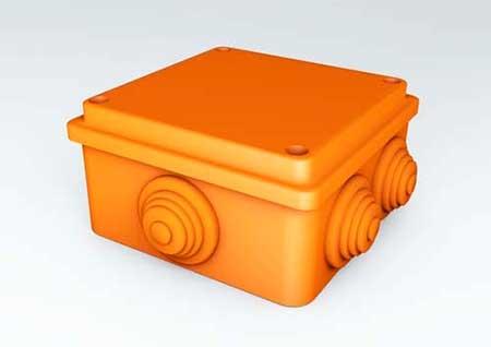 Коробка распределительная Ecoplast огнестойкая JBS 100/150/210 IP55