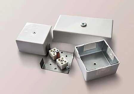 Огнестойкая монтажная коробка КМ-О (IP66)