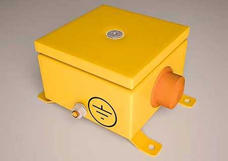 Огнестойкая монтажная коробка ДВК.П (IP66)