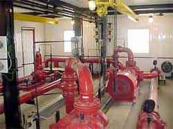 Система пожарного водопровода