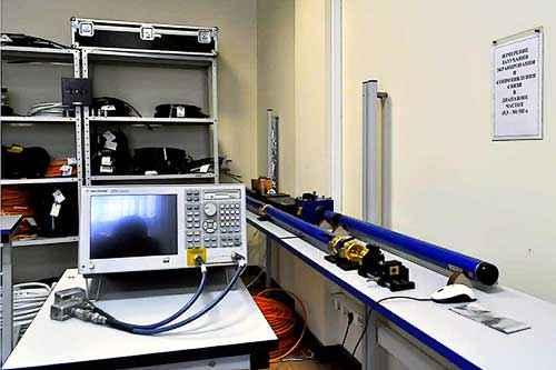 Участок оценки эффективности экранирования кабельных изделий НПП Спецкабель