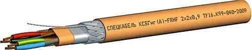 Кабель марки КСБГнг(А)-FRLS 2х2х0,78